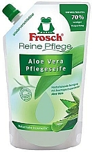 "Fragrances, Perfumes, Cosmetics Liquid Soap ""Aloe Vera"" - Frosch Pure Care Liquid Soap (poypack)"