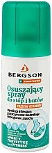 Fragrances, Perfumes, Cosmetics Drying Foot & Shoe Spray - Bergson Foot Spray