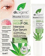 "Fragrances, Perfumes, Cosmetics Intensive Eye Serum ""Hemp Oil"" - Dr. Organic Bioactive Skincare Hemp Oil Intensive Eye Serum"