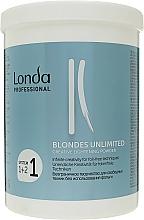 "Fragrances, Perfumes, Cosmetics Lightening Powder ""Creative"" - Londa Professional Blondes Unlimited Creative Lightening Powder"