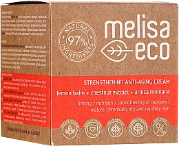Fragrances, Perfumes, Cosmetics Firming Anti-Wrinkle Face Cream - Melisa Eco