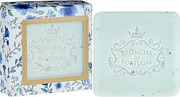 Fragrances, Perfumes, Cosmetics Scrub-Soap - Essencias De Portugal Violet And Apricot Kernel Scrub Aromatic Soap