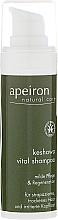 Fragrances, Perfumes, Cosmetics Dry and Damaged Hair Shampoo - Apeiron Keshawa Vital Shampoo (mini size)