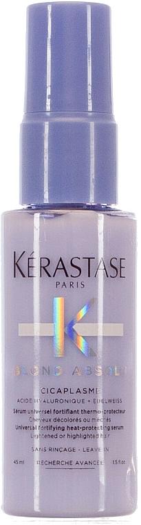Heat Protection & Strengthening Hair Serum - Kerastase Blond Absolu Cicaplasme (mini size) — photo N1