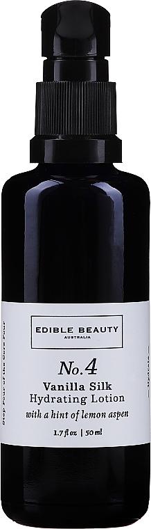 Moisturizing Face Lotion #4 - Edible Beauty No. 4 Vanilla Silk Hydrating Lotion — photo N3
