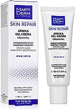 Fragrances, Perfumes, Cosmetics Face Gel Cream - MartiDerm Skin Repair Arnika Cream Gel SPF 30