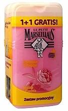 "Fragrances, Perfumes, Cosmetics Set ""Raspberry & Peony"" - Le Petit Marseillais (sh/gel/250ml + sh/gel/250ml)"