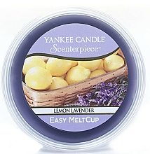 Fragrances, Perfumes, Cosmetics Scented Wax - Yankee Candle Lemon Lavender Scenterpiece Melt Cup