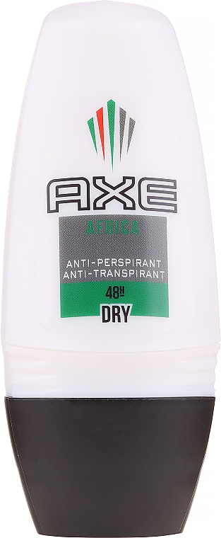 Men Antiperspirant-Deodorant - Axe Africa Dry Deo Roll-On Men