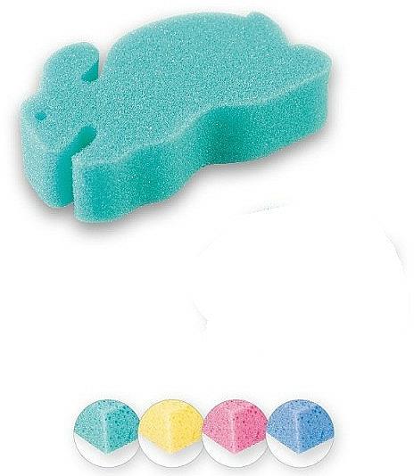 "Kids Bath Sponge ""Bunny"", green - Top Choice"
