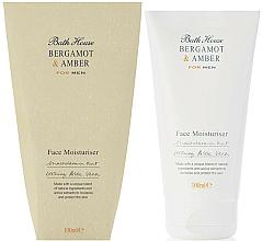 Fragrances, Perfumes, Cosmetics Bath House Bergamot & Amber - Face Cream