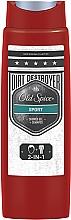 Fragrances, Perfumes, Cosmetics Shower Gel - Old Spice Odor Blocker Sport Shower Gel