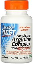 Fragrances, Perfumes, Cosmetics Fast Acting Arginine Complex with Nitrosigine - Doctor's Best Fast Acting Arginine Complex with Nitrosigine