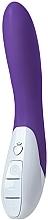 Fragrances, Perfumes, Cosmetics Silicone Vibrator, deep purple - Mystim Elegant Eric Deep Purple