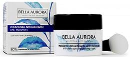 Fragrances, Perfumes, Cosmetics Anti-Dark Spot Detoxifying Mask - Bella Aurora Anti-Dark Spot Detoxifying Mask