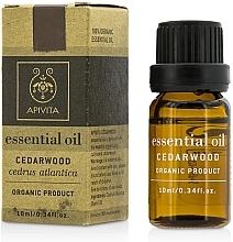 "Fragrances, Perfumes, Cosmetics Essential Oil ""Cedarwood"" - Apivita Aromatherapy Organic Cedar Oil"
