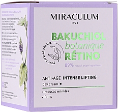 Fragrances, Perfumes, Cosmetics Facial Day Cream - Miraculum Bakuchiol Botanique Retino Anti-Age Intensive Lifting