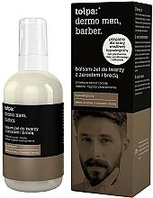 Fragrances, Perfumes, Cosmetics Facial Lotion-Gel - Tolpa Dermo Men Barber