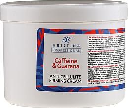 Fragrances, Perfumes, Cosmetics Anti-Cellulite Caffeine & Guarana Cream - Hristina Professional Caffein & Guarana Anti Cellulite Firming Cream