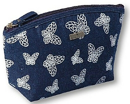 Fragrances, Perfumes, Cosmetics Makeup Bag, 96181, blue - Top Choice