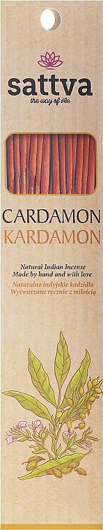 "Incense Sticks ""Cardamom"" - Sattva Kardamon"