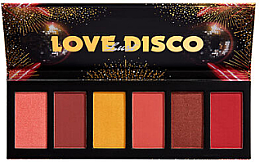 Fragrances, Perfumes, Cosmetics Blush Palette - NYX Professional Makeup Love Lust Disco Sweet Cheeks Blush Palette