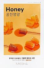 Fragrances, Perfumes, Cosmetics Nourishing Sheet Face Mask - Missha Airy Fit Sheet Mask Honey