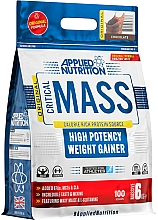 """Fragrances, Perfumes, Cosmetics High Potency Weight Gainer """"Chocolate"""" - Applied Nutrition Critical Mass High Potency Weight Gainer Chocolate"""