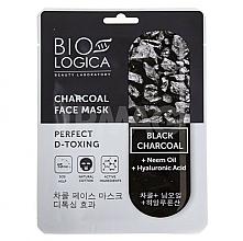 "Fragrances, Perfumes, Cosmetics Charcoal Mask ""Charcoal D-Toxing"" - Biologica Charcoal"
