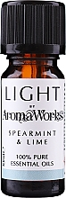 "Fragrances, Perfumes, Cosmetics Essential Oil ""Mint & Lime"" - AromaWorks Light Range Spearmint and Lime Essential Oil"