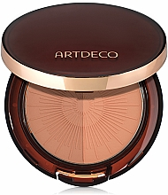 Fragrances, Perfumes, Cosmetics Bronzing Powder - Artdeco Bronzing Powder Compact Long-Lasting