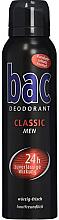 Fragrances, Perfumes, Cosmetics Deodorant - Bac Classic 24h Deodorant