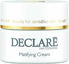 Fragrances, Perfumes, Cosmetics Matte Moisturizing Cream - Declare Matifying Hydro Cream