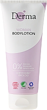 Fragrances, Perfumes, Cosmetics Body Lotion with Apricot Oil and Aloe Vera - Derma Eco Woman Body Lotion