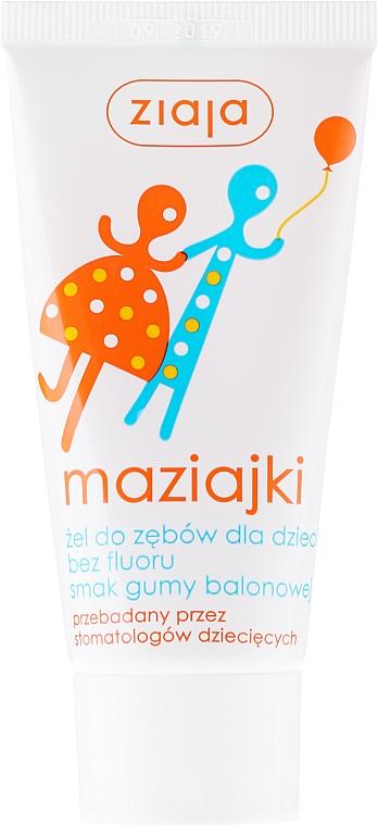 Toothpaste Gel for Kids Bubble Gum - Ziaja