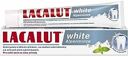 "Fragrances, Perfumes, Cosmetics Toothpaste ""White Alpine Mint"" - Lacalut White Alpenminze Toothpaste"