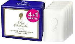 Fragrances, Perfumes, Cosmetics Cream-Soap - Pani Walewska Classic Creamy Soap
