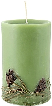 "Fragrances, Perfumes, Cosmetics Scented Candle ""Mountain Fresh"" - Bulgarian Rose Aromatherapy Candle Mountain Fresh"
