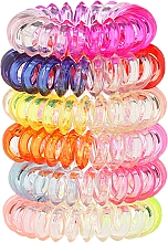 Fragrances, Perfumes, Cosmetics Hair Ring Wire 6 pcs, 22562 - Top Choice
