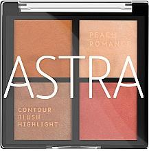 Fragrances, Perfumes, Cosmetics Makeup Palette - Astra Make-up The Romance Palette