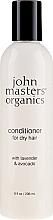 Fragrances, Perfumes, Cosmetics Dry Hair Conditioner - John Masters Organics Conditioner For Dry Hair Lavender & Avocado