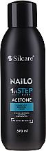 Fragrances, Perfumes, Cosmetics Gel Polish Remover - Silcare Nailo Aceton