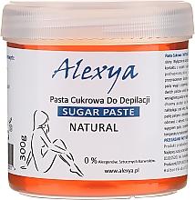 Fragrances, Perfumes, Cosmetics Paste for Depilation - Alexya Sugar Paste For Depilation Natural