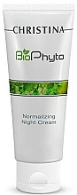 Fragrances, Perfumes, Cosmetics Normalizing Night Cream - Christina Bio Phyto Normalizing Night Cream