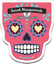 Fragrances, Perfumes, Cosmetics Facial Sheet Mask - Dr Mola Sweet Masquarade Red&Pink Fruits mask