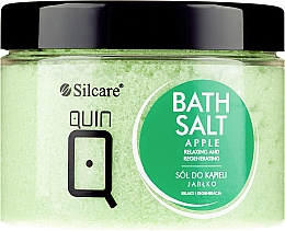 "Bath Salt ""Apple"" - Silcare Quin Bath Salt Apple — photo N3"