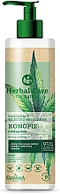 "Fragrances, Perfumes, Cosmetics Micellar Milk ""Hemp and Collagen"" - Farmona Herbal Care"