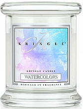 Fragrances, Perfumes, Cosmetics Scented Candle in Glass - Kringle Candle Watercolors