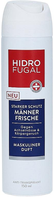 Antiperspirant Spray - Hidrofugal Men Fresh Spray