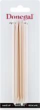 Fragrances, Perfumes, Cosmetics Manicure Orange Sticks 12 cm, 9208 - Donegal